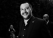 "Matteo Salvini partecipa ad ""Atreju"" evento organizzato dal partito politico di destra Fratelli d'Italia. Roma 22 settembre 2017. Christian Mantuano / OneShot<br /> <br /> Matteo Salvini at 'Atreju' event organized by Fratelli d'Italia, italian right wing party. Rome 22 september 2017. Christian Mantuano / OneShot"