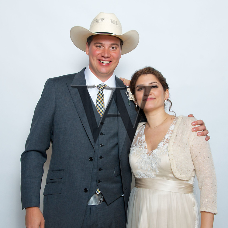 Ben & Dale's Wedding Reception Photo Booth