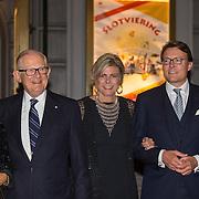 NLD/Amsterdam/20150926 - Afsluiting viering 200 jaar Koninkrijk der Nederlanden, Mr. Pieter van Vollenhoven, Laurentien en Constantijn