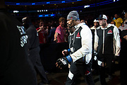 DALLAS, TX - MAY 13:  Dave Branch walks to the Octagon before fighting Krzysztof Jotko during UFC 211 at the American Airlines Center on May 13, 2017 in Dallas, Texas. (Photo by Cooper Neill/Zuffa LLC/Zuffa LLC via Getty Images) *** Local Caption *** Dave Branch