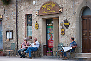 Seggiano Caffe '60 in Seggiano near Montalcino, Val D'Orcia,Tuscany, Italy RESERVED USE - NOT FOR DOWNLOAD - FOR USE CONTACT TIM GRAHAM