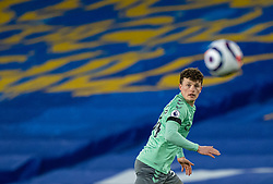 BRIGHTON & HOVE, ENGLAND - Monday, April 12, 2021: Everton's substitute Nathan Broadhead, making his Premier League debut, during the FA Premier League match between Brighton & Hove Albion FC and Everton FC at the AMEX Stadium. The game ended in a 0-0 draw. (Pic by David Rawcliffe/Propaganda)