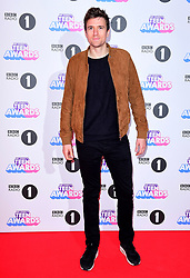 Greg James attending BBC Radio 1's Teen Awards, at the SSE Arena, Wembley, London.