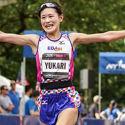 NYRR Oakley Mini 10K for Women: Yukari Ishizawa, Japan, Mizuno