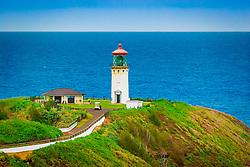 Kilauea Lighthouse, Kilauea National Wildlife Refuge, Kauai, Hawaii, Pacific Ocean