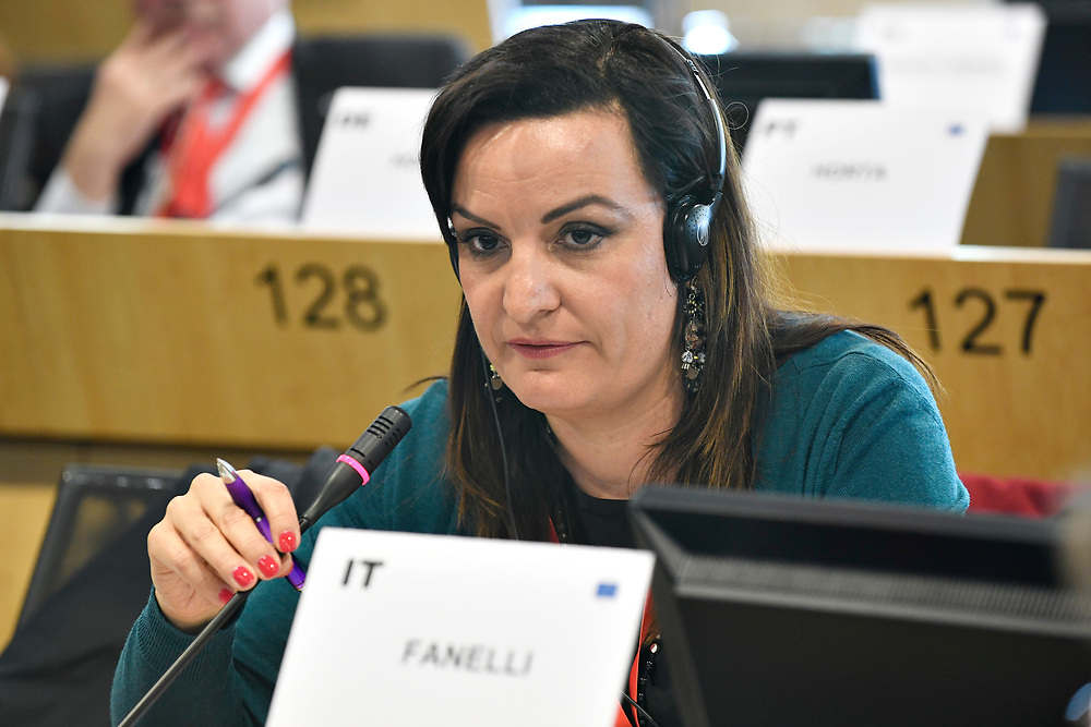 11 May 2017, PES Group meeting<br /> Belgium - Brussels - May 2017 <br /> FANELLIMicaela<br /> © European Union / Photographer