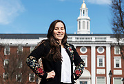 BOSTON -- 041119 -- Forte leader and Harvard MBA student Maria Osorio on Thursday, April 11, 2019. © Christine Hochkeppel/Salty Broad Studios, LLC