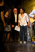 RICHARD WILSON AND SOPHIE OKONEDO,  'Cries from the Heart' presented by Human Rights Watch at the Theatre Royal Haymarket. London. Party afterwards at the Haymarket Hotel. June 8, 2008 *** Local Caption *** -DO NOT ARCHIVE-© Copyright Photograph by Dafydd Jones. 248 Clapham Rd. London SW9 0PZ. Tel 0207 820 0771. www.dafjones.com.