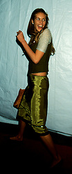 Nov 04, 1998; New York, NY, USA; Supermodel ELLE MACPHERSON @ Puff Daddy's 25th Birthday Party.  (Credit Image: © Nancy Kaszerman/ZUMAPRESS.com)