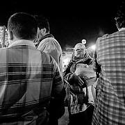 Djemaa el Fna crowd, Marrakech, Morocco (November 2006)