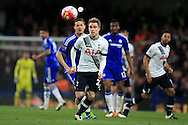 Christian Eriksen of Tottenham Hotspur © in action.Barclays Premier league match, Chelsea v Tottenham Hotspur at Stamford Bridge in London on Monday 2nd May 2016.<br /> pic by Andrew Orchard, Andrew Orchard sports photography.