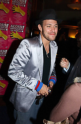 Singer WILL YOUNG at an after show party following the opening night of Acorn Antiques - The Musical at The Theatre Royal, Haymarket and held at The Cafe de Paris, Coventry Street, London on 10th February 2005.<br />