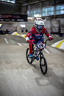 #128 (SMITH Jessie) NZL during practice at the 2019 UCI BMX Supercross World Cup in Manchester, Great Britain