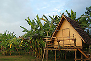 Local home on the banks of the river Pai. Pai, is a small town in northern Thailand near the Myanmar border, north of Chiang Mai on the northern route to Mae Hong Son. It lies along the river Pai.