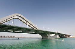 Sheikh Zayed Bridge designed by Zaha Hadid in Abu Dhabi UAE