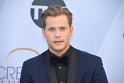 January 27, 2019 - Los Angeles, California, U.S - WYATT NASH during silver carpet arrivals for the 25th Annual Screen Actors Guild Awards, held at The Shrine Expo Hall. (Credit Image: © Kevin Sullivan via ZUMA Wire)