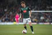 Plymouth Argyle Midfielder Matthew Kennedy (16) in action during the EFL Sky Bet League 2 match between Grimsby Town FC and Plymouth Argyle at Blundell Park, Grimsby, United Kingdom on 6 May 2017. Photo by Craig Zadoroznyj.