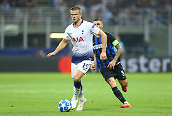September 18, 2018 - Milan, Italy - FC Internazionale Milano v Tottenham Hotspur FC - UEFA Champions League Group B..Eric Dier of Tottenham Hotspur at San Siro Stadium in Milan, Italy on September 18, 2018. (Credit Image: © Matteo Ciambelli/NurPhoto/ZUMA Press)