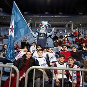 Anadolu Efes's supporters during their Turkish Basketball League match Anadolu Efes between Mersin BSB at Sinan Erdem Arena in Istanbul, Turkey, Saturday, January 14, 2012. Photo by TURKPIX