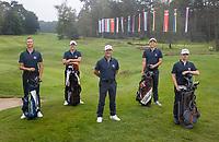 HILVERSUM -  TEAM SLOVAKIA / SLOWAKIJE. . ELTK Golf  2020.  The Dutch Golf Federation (NGF), The European Golf Federation (EGA) and the Hilversumsche Golf Club will organize Team European Championships for men.  COPYRIGHT KOEN SUYK