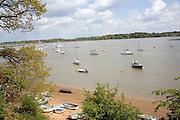 Boats, River Deben, Waldringfield, Suffolk