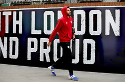 Watford's Etienne Capoue arrives at the stadium prior to the Premier League match at Selhurst Park, London.