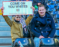 A young Fulham fan before the Sky Bet Championship match at Craven Cottage, London<br /> Picture by Richard Brooks/Focus Images Ltd 07947656233<br /> 02/01/2017