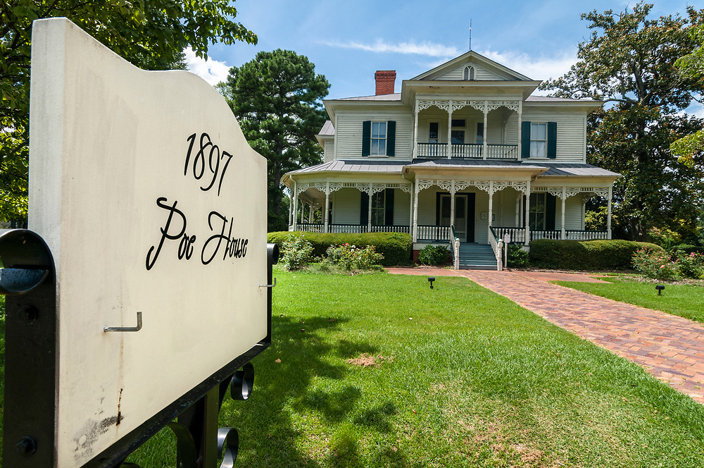 The 1897 Poe House at the Museum of the Cape Fear in Fayetteville, North Carolina on Monday, August 16, 2021. Copyright 2021 Jason Barnette