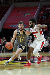 NORMAL, IL - November 24:  Adam Pohlman during a college basketball game between the ISU Redbirds  and the Lindenwood Lions on November 24 2018 at Redbird Arena in Normal, IL. (Photo by Alan Look)