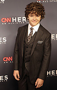 December 17, 2017-New York, NY-United States: Actor Gaten Matarazzo attends the 11th Annual CNN Heroes All-Star Tribute held at the American Museum of Natural History on December 18, 2017 in New York City. The All-Star Tribute ceremony honors everyday people changing the world. Terrence Jennings/terrencejennings.com