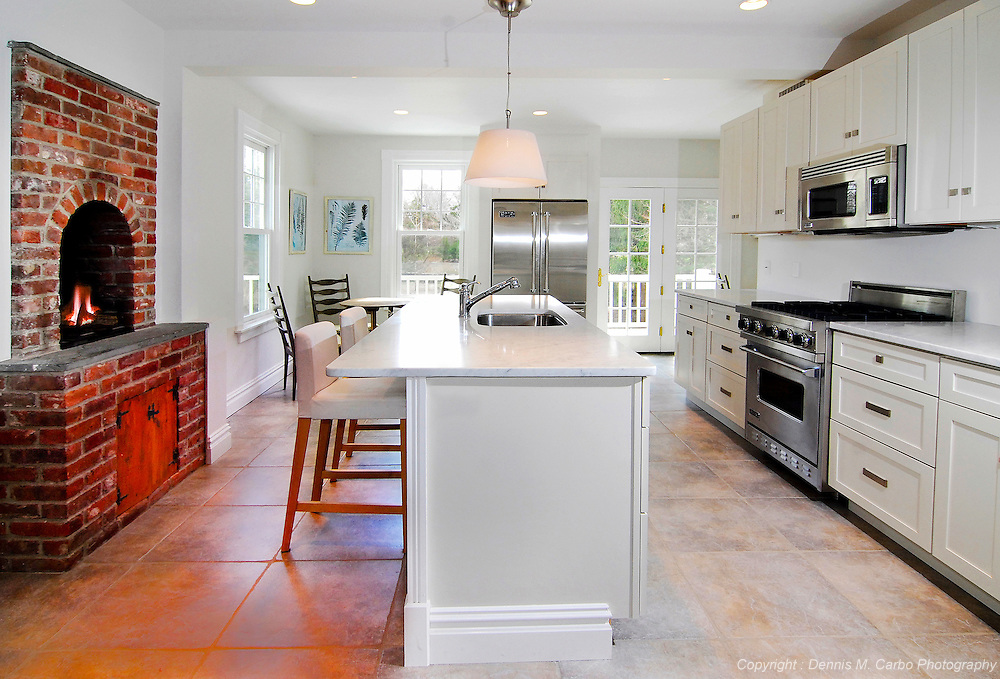Kitchen with Beehive Oven - Essex, CT
