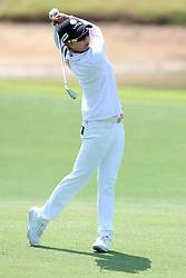 March 3, 2019 - Singapore - Hyo Joo Kim of South Korea plays a shot on the 5th hole during the final round of the Women's World Championship at the Tanjong Course, Sentosa Golf Club. (Credit Image: © Paul Miller/ZUMA Wire)