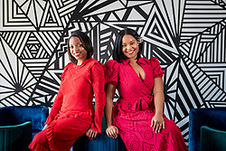 Jeanine Suah and Maghan Morin, co-founders of Thynk Global, opened their new co-working space in the Little River neighborhood of Miami in the midst of the pandemic.