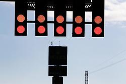 May 11, 2017 - Barcelona, Spain - Motorsports: FIA Formula One World Championship 2017, Grand Prix of Spain, .red light, Ampel, traffic light, signal  (Credit Image: © Hoch Zwei via ZUMA Wire)