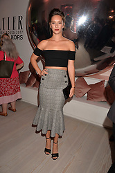 Renee Stewart at the Tatler's English Roses 2017 party in association with Michael Kors held at the Saatchi Gallery, London England. 29 June 2017.<br /> Photo by Dominic O'Neill/SilverHub 0203 174 1069 sales@silverhubmedia.com