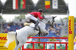 Deusser Daniel, (GER), Cornet D Amour<br /> Team Competition round 1 and Individual Competition round 1<br /> FEI European Championships - Aachen 2015<br /> © Hippo Foto - Stefan Lafrentz<br /> 19/08/15
