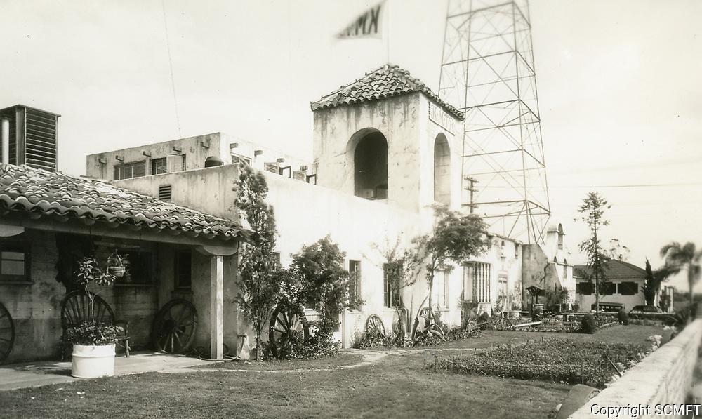 1945 KMTR Radio on Cahuenga Blvd.