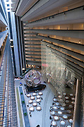 Hyatt Regency Hotel lobby at the Embarcadero, San Francisco, CA