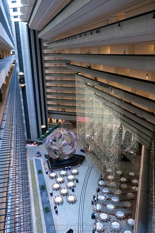 Hyatt Regency Hotel lobby at the Embarcadero, San Francisco, CA