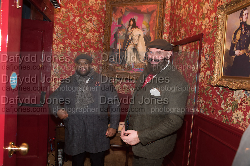STEVEN AND STEPHEN, Fraser Carruthers  and Harry Scofield birthday. Archie's club, 92b Old Brompton Rd. London. 11 February 2017