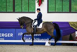 Kronberg, Gestüt Schafhof, KRONBERG _ Int. Festhallen Reitturnier Schafhof Edition 2020,<br /> <br /> SCHWANZ Uwe (GER), Rockson<br /> Louisdor-Preis - Finale 2020 <br /> Nachwuchspferde Grand Prix für 8 - 10j. Pferde / Finale<br /> Grand Prix<br /> Dressurprüfung Kl.S***<br /> <br /> 20. December 2020<br /> © www.sportfotos-lafrentz.de/Stefan Lafrentz
