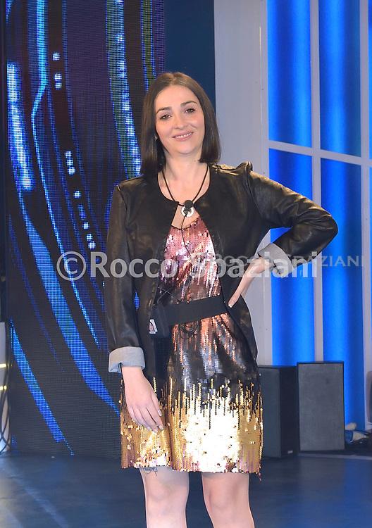 Serena Rutelli. Entrata dei concorrenti nella casa del Grande Fratello a Cinecitta  .Canale  5 ,Roma.8 Aprile 2019