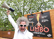 Limbo<br /> produced by Scott Maidment, <br /> Underbelly Productions, Strut & Fret Productions and Southbank Centre.<br /> <br /> London Wonderground at Southbank Centre <br /> London, Great Britain <br /> press photocell<br /> 15th May 2013 <br /> <br /> co-directed by Scott Maidment <br /> <br /> Danik Abishev - hand balancer <br /> <br /> Heather Holliday - fire eater<br /> <br /> <br /> Sxip Shirey - musical director<br /> Grant Arthur – Musician<br /> Mick Stuart – Musician<br /> <br /> Evelyne Allard - aerialist & piano accordian <br /> <br /> Mikael Bres - Chinese pole & vox)<br /> <br /> Hilton Denis - dancer<br /> <br /> Jonathan Nosan - contortion <br /> <br /> <br /> <br /> <br /> Photograph by Elliott Franks
