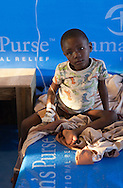 Boy being treated for cholera in Port-au-Prince at a Samaritan's Purse clinic. Samaritan's Purse, an NGO, openned a second cholera clinic in Cité Soleil on November 29th with 200 beds.