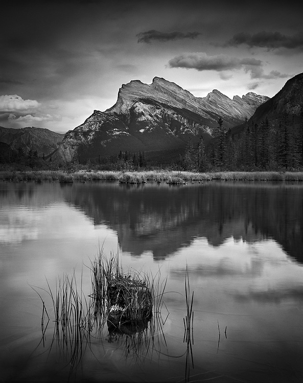 Mount Rundle and Stump