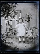 little toddler girl France 1923