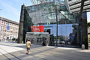 Eastern Europe, Hungary, Budapest, Shopping mall -  West End