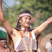 Aboriginal performance, Zahamu Park, Anping, Tainan City, Taiwan