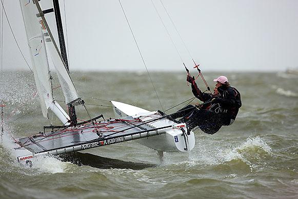 08_004221 © Sander van der Borch. Medemblik - The Netherlands,  May 25th 2008 . Final day of the Delta Lloyd Regatta 2008.