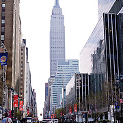 Empire State Building on the 42nd Street.